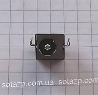 Коннектор зарядки на плату для ноутбуков Asus, Lenovo, Toshiba,  5.5mmx2.5mm