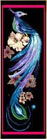 Картина для рисования стразами Diamond painting Алмазная вышивка алмазами мозаика синяя птица