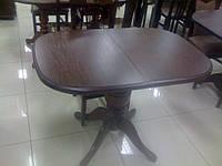 Стол раскладной Эмиль лесной орех 105(+40)х75см