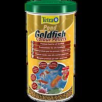 Корм для прудовых рыб Tetra pond Goldfish Colour Pellets 1 л корм для любых видов золотых рыбок