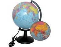 Глобус 22 см политический с подсветкой 928845