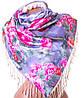 Привлекательный двусторонний палантин женский шелковый  172 на 52 см ETERNO (ЭТЕРНО) ES0206-9-20
