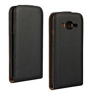 [ Samsung J2 J200 ] Флип-чехол на смартфон Самсунг черный