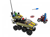 LEGO Супергерои Капитан Америка против Гидры оригинал