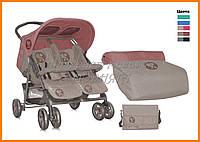 Детская  коляска для двойняшек Bertoni TWIN