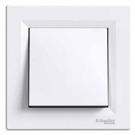 Выключатель1- крестовой белый Шнайдер Asfora EPH0500121