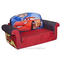 Диванчик детский раскладной Marshmallow FurnitureDisney Cars 2 в 1 ОРИГИНАЛ из Амерки