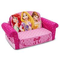 Disney Princess, Диванчик детский раскладной Marshmallow Furniture 2 в 1 ОРИГИНАЛ из Амерки