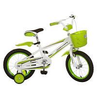 Велосипед Профи RB 16 дюймов зеленый,синий, розовый Profi велосипед двухколесный