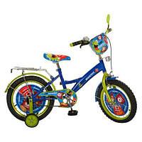 Велосипед Профи Монстры 16 дюймов Profi Monsters двухколесный детский