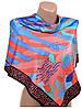 Женский шелковый платок размером 90*90 20492-C5 (цветной)