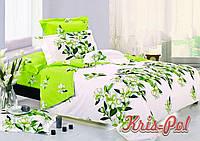 Постельное бельё двухспальное 180*220 хлопок (4814) TM KRISPOL Украина