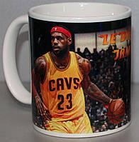 Чашка с изображением LeBron James