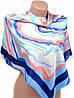 Изящный женский платок размером 90*90 20492-F1 (цветной)