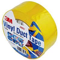 3М™ 3903i Специальная клейкая лента (Scotch) VINYL DUCT TAPE (скотч), 50х0,13 мм, рулон 50 м, желтый
