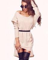 Платье женское Ангоровое ассиметрия