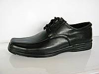 """Туфли мужские кожаные """" Массовка- шнурок 2 """""""