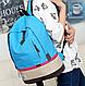 Женский городской рюкзак Классик 17 л. URBANSTYLE, 008 голубой, фото 3