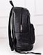 Женский городской рюкзак из кожзама 17 л. URBANSTYLE, 091 черный, фото 2