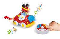 Развивающая игрушка Clementoni Автомобиль на р/у с Микки