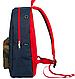Городской рюкзак с цветным карманом 8848 17 л., синий / красный / камуфляжный, URBANSTYLE, 090, фото 2