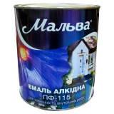 Эмаль Мальва ПФ115Д  Светло-серая 2,8кг