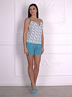Женский комплект для дома (майка+шорты) от ТМ Роксана