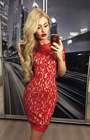"""Платье женское """"Мини"""", красное"""