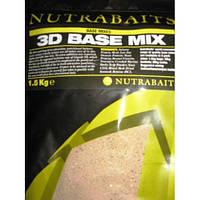 Базовая смесь «3D» Nutrabaits (Базовая смесь «3D» 1,5кг.)