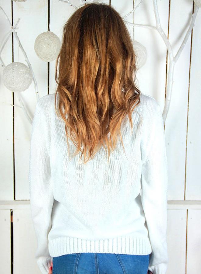 Купить вязаный свитер женский доставка