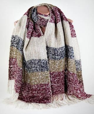Теплый мохеровый женский шарф Traum 2483-25