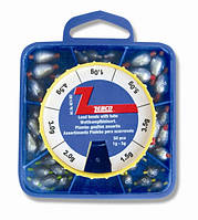 Zebco 6073904 Набор грузил Lead beads with tube.,3.0-8g,
