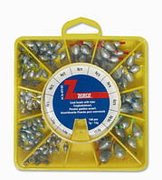 Zebco 6073903 Набор грузил Lead beads with tube.,1.0-13g,