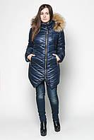 Женская куртка с мехом №19 (плащевка)