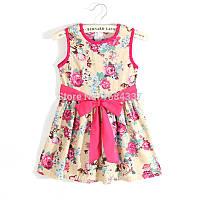 Детское летнее платье.Нарядное платье.