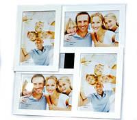Фоторамка на подставке деревянная 29х29х2 см на 4 фото