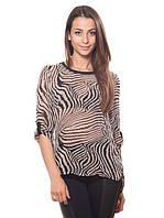 Восхитительная, легкая блузка свободного кроя с рукавами