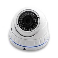 IP камера LUX 4040-200 с IR-подсветкой до 25м, купольной формы, антивандальные свойства