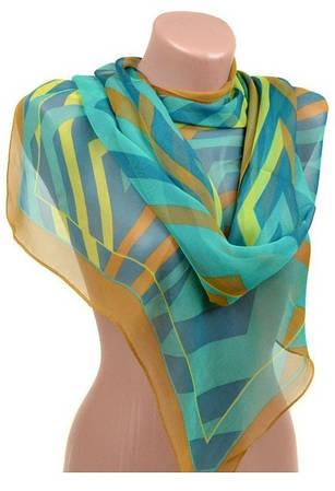 Оригинальный женский шарф 50 на 160 полиэстер 10122-B1