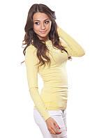 Красивая блузка кофточка с округлым вырезом горловины