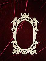 Свадебная рамка - герб (60 х 38 см.), декор