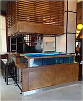 Торговые аквариумы Акватика для продажи омаров, устриц