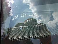 Mercedes наклейка апликация Daimler на стекло новая оригинал Mercedes-Benz!