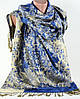 Красивая жаккардовая шаль  из пашмины Traum 2493-30