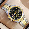 Кварцевые наручные часы Rolex Quartz 003 Silver-gold/Black 2099
