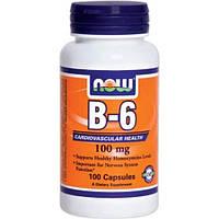 Витамин В6 B-6 100 mg (100 caps)