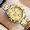 Элегантные наручные часы Rolex Quartz 003 Silver-gold/Gold 20017