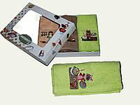 Махровое Полотенце для кухни 50х30 (2-3 шт в упаковке)цена за уп