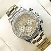 Стильные наручные часы Rolex Daytona Women Crystal Silver 20034