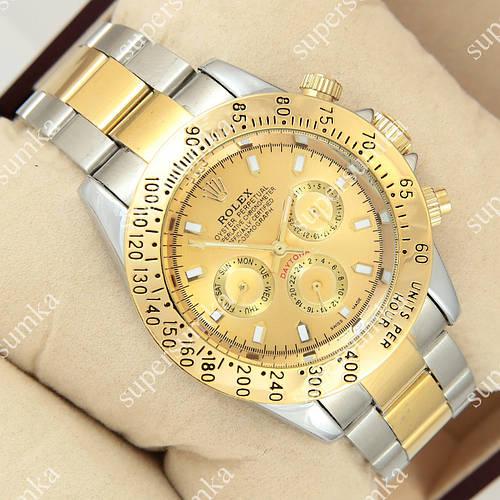 Механические наручные часы Rolex Daytona Men Silver/Gold 1020-0148